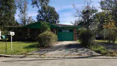 Houma Single Family Home For Sale: 147 Acklen Street