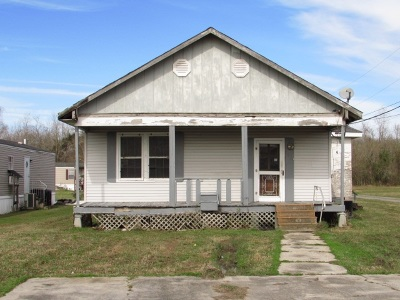 Thibodaux Single Family Home For Sale: 163 Nora T Lane