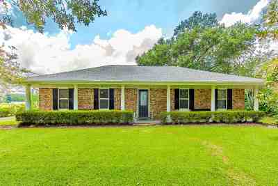 Houma Single Family Home For Sale: 2831 Bayou Blue Road