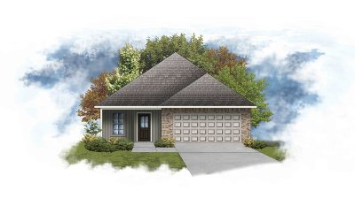 Thibodaux Single Family Home For Sale: 166 Colony Station