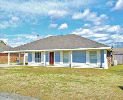 Thibodaux Single Family Home For Sale: 108 Aragon Drive