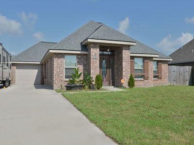Thibodaux Single Family Home For Sale: 163 Harvest Court