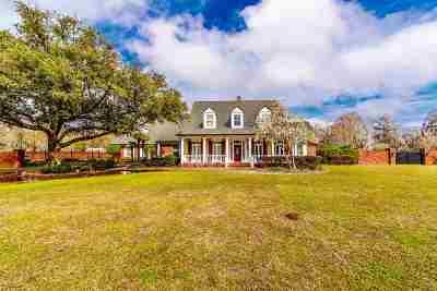 Houma Single Family Home For Sale: 215 Ouiski Bayou Drive