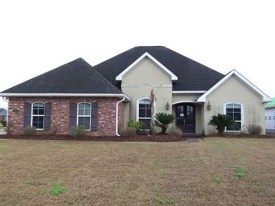 Thibodaux Single Family Home For Sale: 120 Autumn Ridge Drive