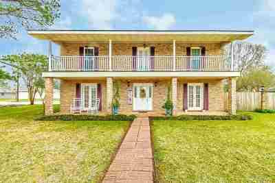 Thibodaux Single Family Home For Sale: 801 Levert Drive