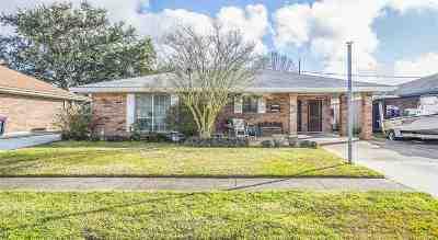 Houma Single Family Home For Sale: 608 Walker Drive