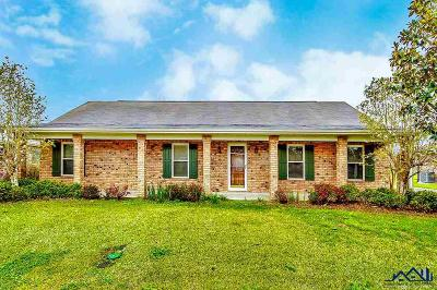 Thibodaux Single Family Home For Sale: 209 Midway Street