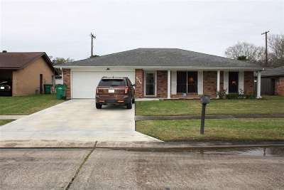 Morgan City Single Family Home For Sale: 3013 Carrol Drive
