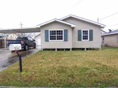 Houma Single Family Home For Sale: 810 Peach Street