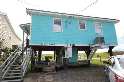 Grand Isle Single Family Home Under Contract: 2988 La Hwy 1