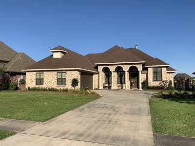Houma Single Family Home For Sale: 285 Sugarwood Boulevard