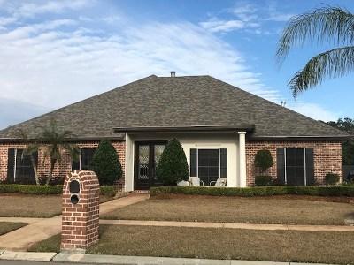 Houma Single Family Home For Sale: 339 Tulip Drive