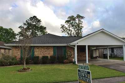 Houma Single Family Home For Sale: 612 Quickie Drive