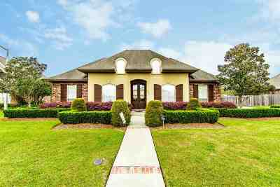 Thibodaux Single Family Home For Sale: 172 Cinclare Drive