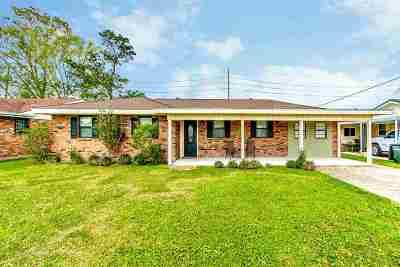 Houma Single Family Home For Sale: 507 Highland Drive