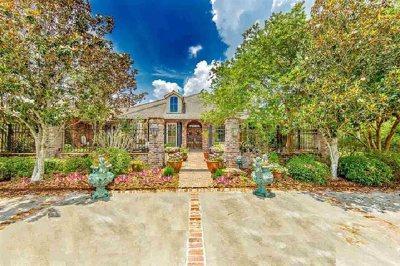 Houma Single Family Home For Sale: 114 Bocage Drive
