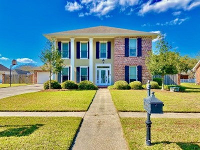 Houma Single Family Home For Sale: 207 Choctaw Drive