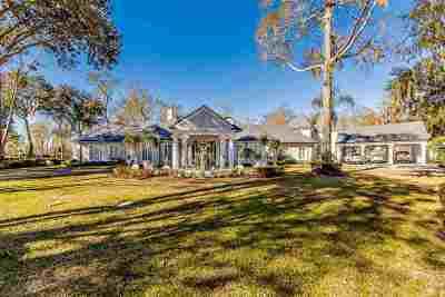 Houma Single Family Home For Sale: 444 Oak Alley Drive