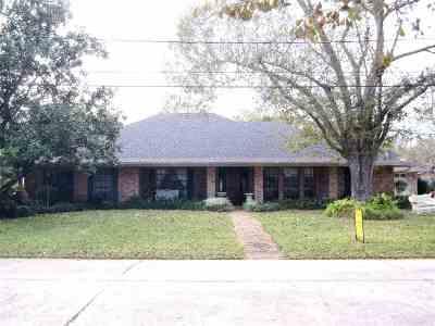 Houma Single Family Home For Sale: 1109 Franklin Avenue