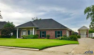 Houma Single Family Home For Sale: 103 Regency Lane