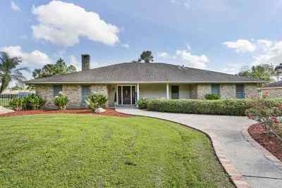 Bourg Single Family Home For Sale: 4011 Kerr Drive