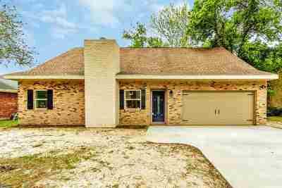 Houma Single Family Home For Sale: 240 Lake Crescent Circle