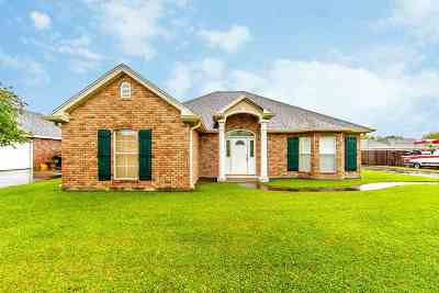 Thibodaux Single Family Home For Sale: 711 Rosedown Drive