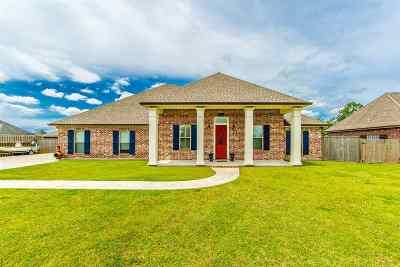 Houma Single Family Home For Sale: 4638 Sugar Bend Street