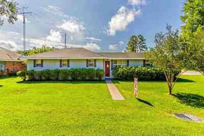 Thibodaux Single Family Home For Sale: 707 Edgewood Drive