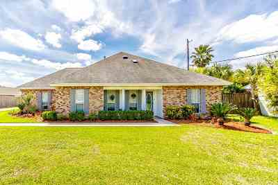 Thibodaux Single Family Home For Sale: 103 Gaubert Drive