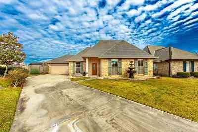 Houma Single Family Home For Sale: 127 Bryce Lane