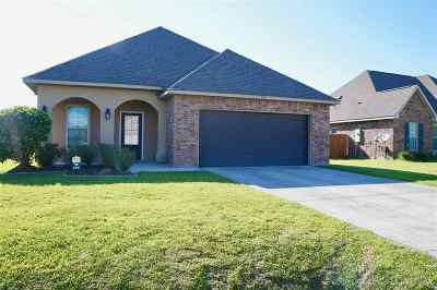 Thibodaux Single Family Home For Sale: 225 Harvest Court
