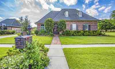 Houma Single Family Home For Sale: 221 Autumn Drive