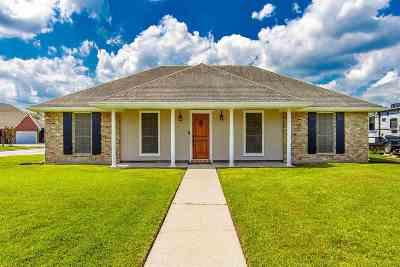 Houma Single Family Home For Sale: 212 Tigerlily Drive