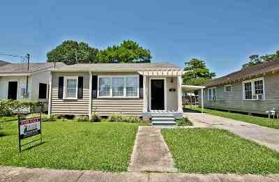Houma Single Family Home For Sale: 116 Josephine Street