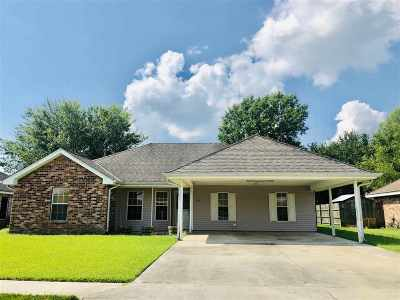 Houma Single Family Home For Sale: 308 L Kirth Drive