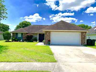 Houma Single Family Home For Sale: 288 Baptiste Circle