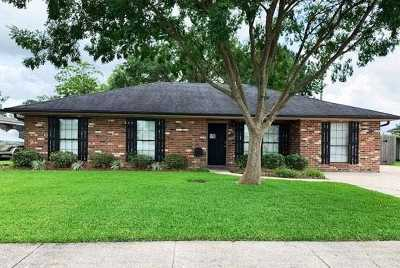 Houma Single Family Home For Sale: 6 South Bell Circle