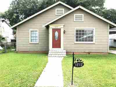 Houma Single Family Home For Sale: 1212 Church Street