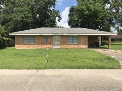 Bourg Single Family Home For Sale: 214 Retreat Drive