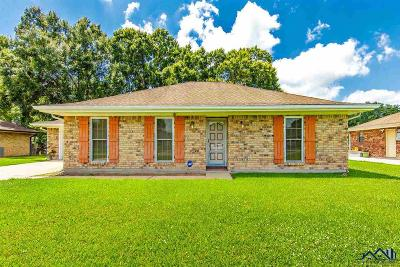 Bourg Single Family Home For Sale: 110 Corral Way Drive