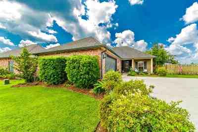 Thibodaux Single Family Home For Sale: 146 Lake Olivia Drive