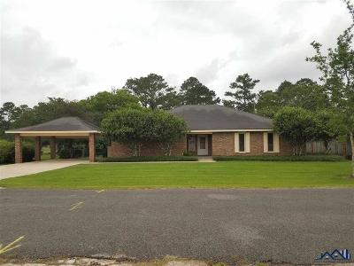 Thibodaux Single Family Home For Sale: 912 Edgewood Drive