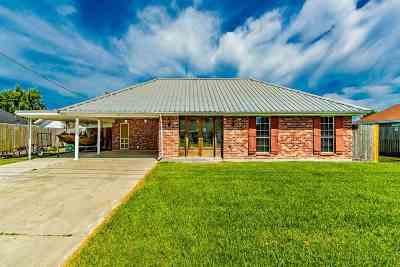 Thibodaux Single Family Home For Sale: 119 Belle Isle Drive