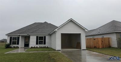Thibodaux Single Family Home For Sale: 171 Colony Station