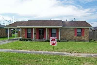 Thibodaux Single Family Home For Sale: 520 Poplar Street