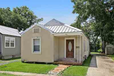 Thibodaux Single Family Home For Sale: 529 West 8th Street