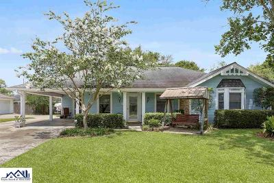 Thibodaux Single Family Home For Sale: 1312 Lee Drive