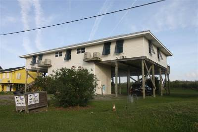 Grand Isle, Fourchon Single Family Home For Sale: 3368 La Hwy 1