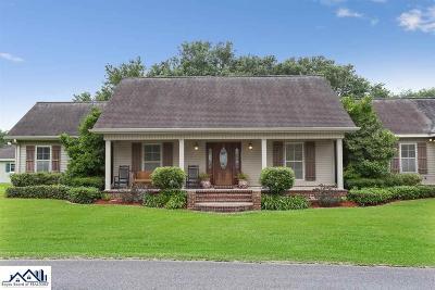Thibodaux Single Family Home For Sale: 138 Mocking Bird Lane